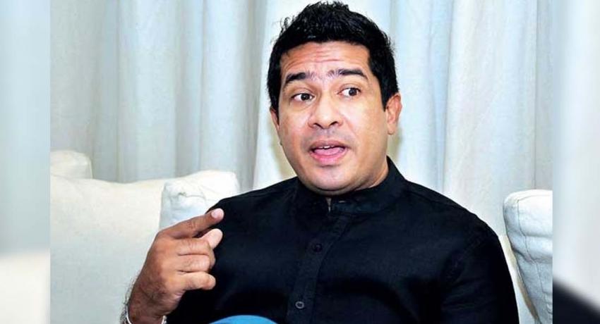 Sujeewa Senasinghe steps down from Politics