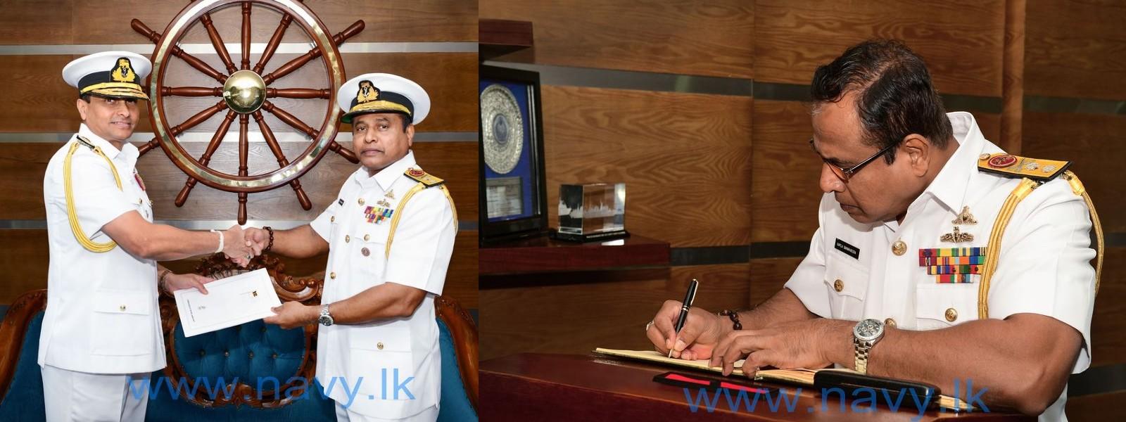 Rear Admiral Kapila Samaraweera appointed as Chief of Staff of the Sri Lanka Navy