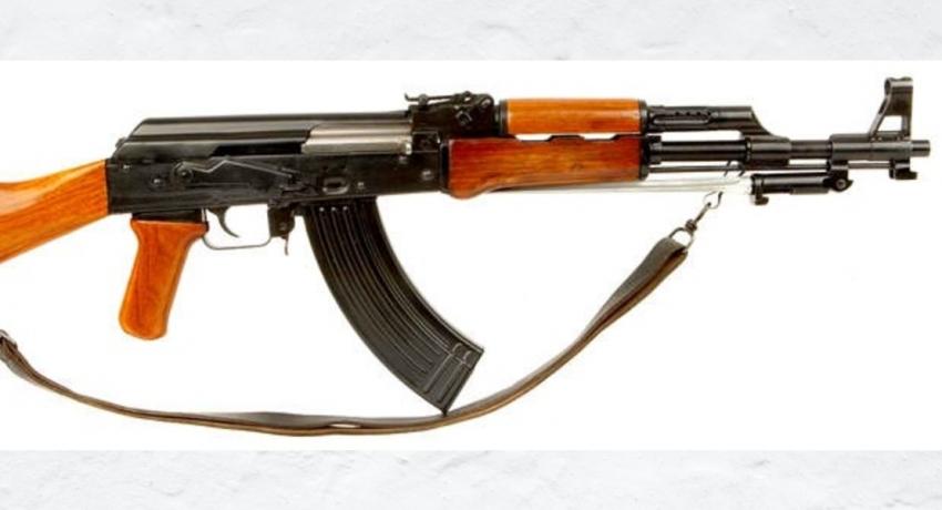 Two T-56 firearms found buried behind A house in Dodanduwa