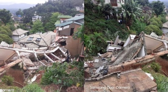 Buwelikada collapse: NBRO inspecting material samples