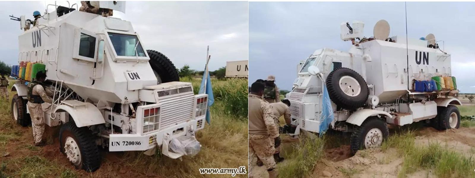 Army-Produced Unibuffels Undergo Acclimatization Trials in Mali