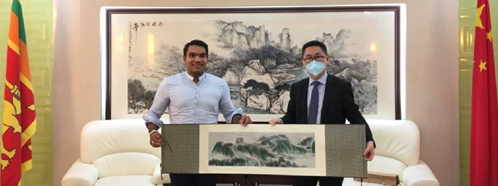 Chinese diplomat meets with Sri Lankan sports minister