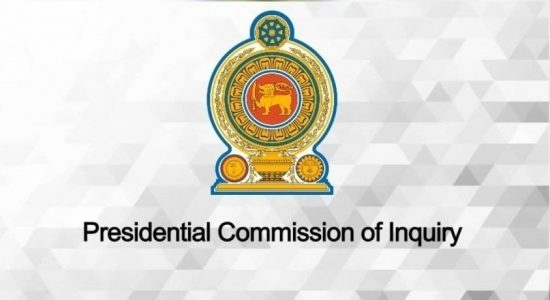 Maithripala Sisisena, Private Secretary & Auxiliary Bishops ordered to appear at PCoI