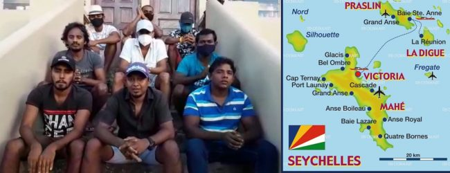 Dozens of Sri Lankans stranded in Seychelles seek to return home (VIDEO)