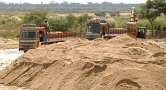 123 arrested for illegal sand mining: SL Army