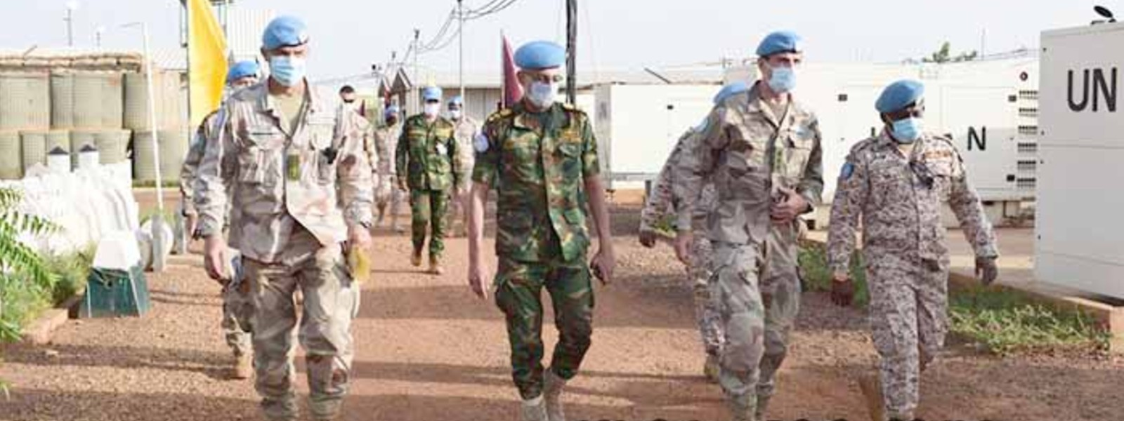 MINUSMA Force Commander Compliments SL Convoy in Mali
