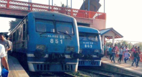 Railways operations between Fort and Maradana, delayed: Railway Control Room