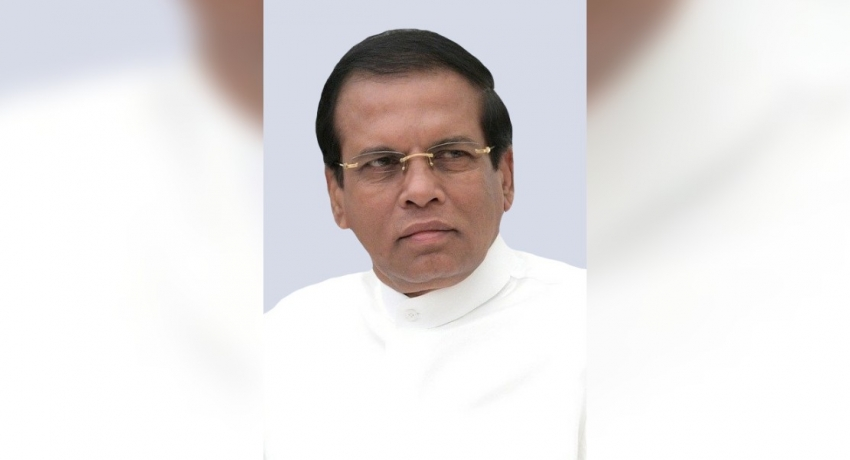 """I instructed Zaharan Hashim's arrest"": Fmr. President Sirisena"