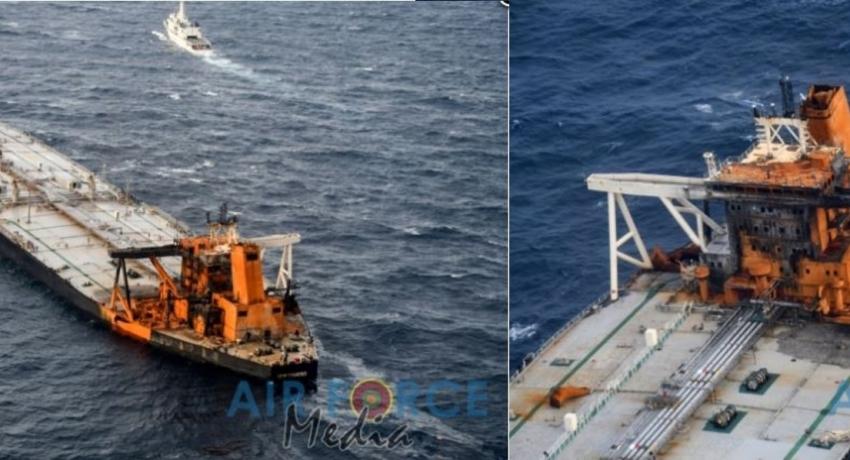 Salvage Team board the distressed MT New Diamond Crude Oil Tanker (VIDEO)