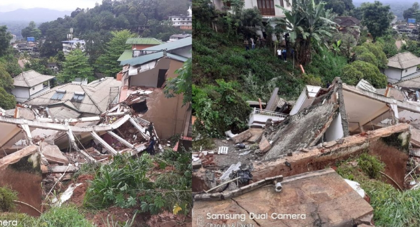 Owner of building in Kandy which collapsed killing three, arrested