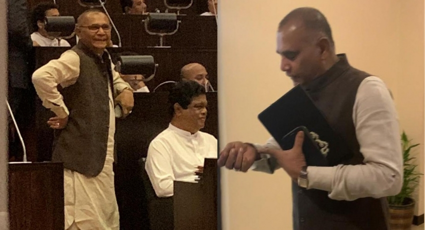 Ahtaullah withdraws from Parliament session following criticism on attire