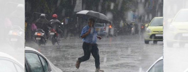 Fairly heavy falls exceeding 100 mm likely today: Met Department