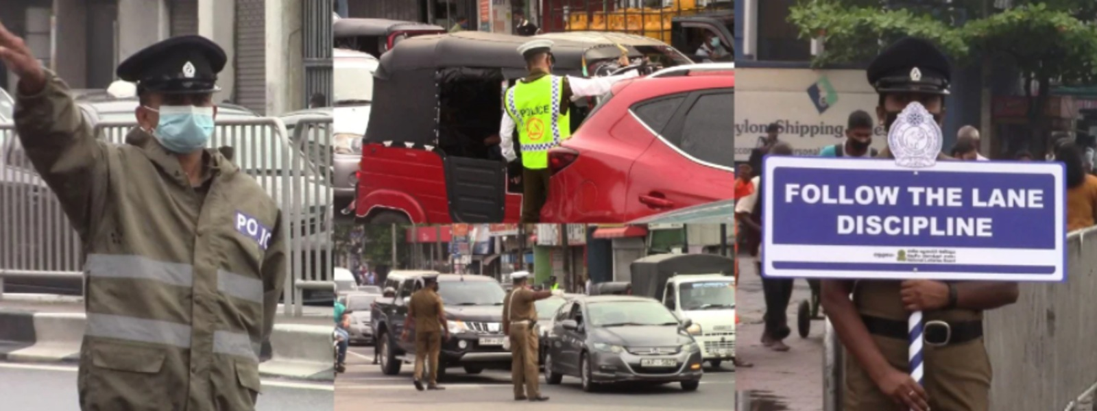 Over 1000 Traffic Lane Law violators to be cautioned by Police