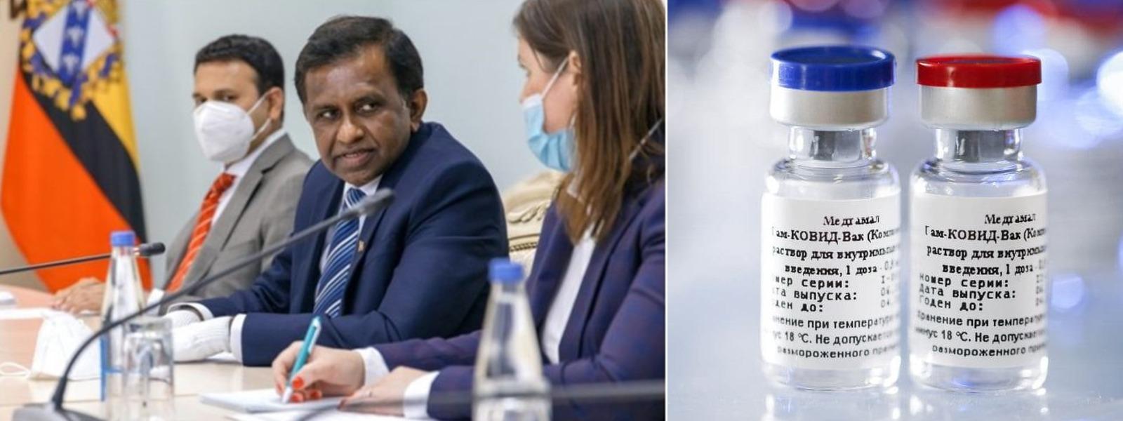 Sri Lanka's Ambassador to Russia Plans On Getting Vaccinated With Sputnik V