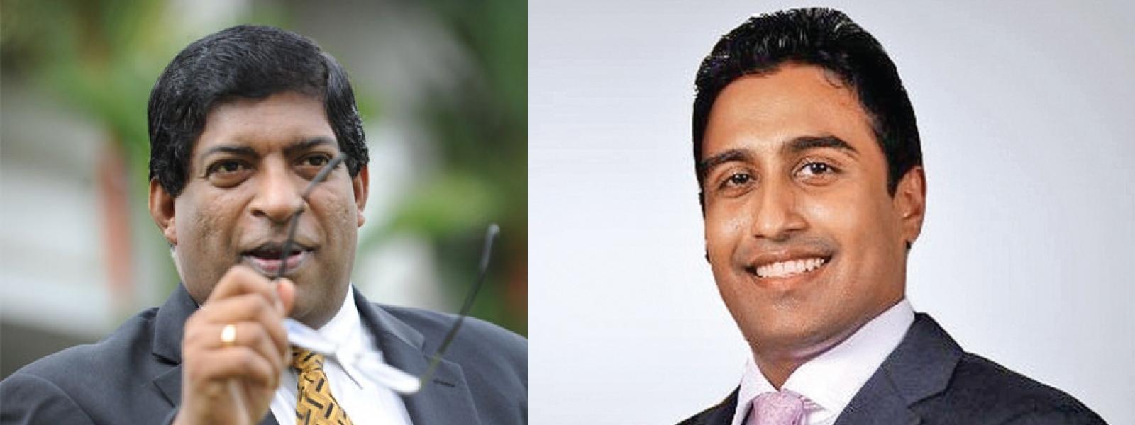 Bribery cases filed against Ravi Karunanayake and Arjun Aloysius
