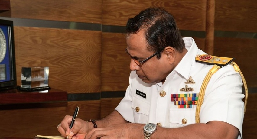 Rear Admiral Kapila Samaraweera appointed as Chief of Staff of the Sri Lanka Navy