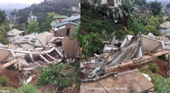 (VIDEO) Multi-storied building collapses in Kandy – Rescue op underway to locate three people