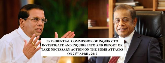 Ex-President's statement on PCoI witness claims : PCoI to make order on Wednesday