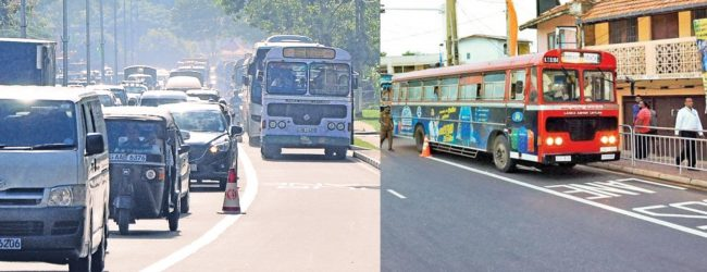 Bus Priority Lane strictly enforced from today: Police