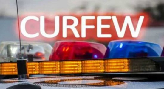 Police curfew imposed in Divulapitiya and Minuwangoda Police jurisdictions