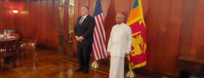US Secretary of State holds talks with Foreign Minister