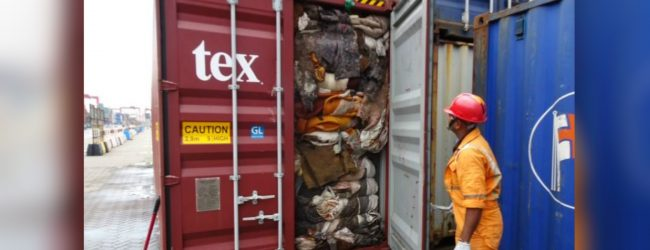 Sri Lanka seeks Rs. 1.6 Bn as compensation for shipping containers with garbage
