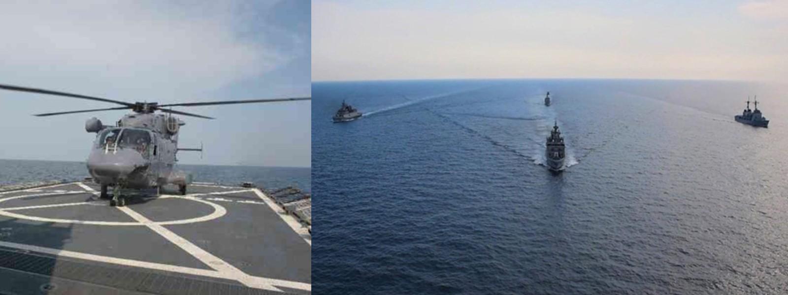 SLINEX – 20 conducted off the Eastern Coast of Sri Lanka