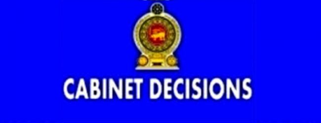 Cabinet approves mixed development projects in Colombo & other Cities