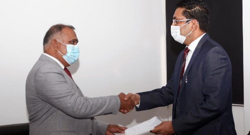 Ganesh R. Dharmawardena is the new Public Trustee of Sri Lanka.
