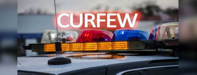 Quarantine curfew in four more police jurisdictions