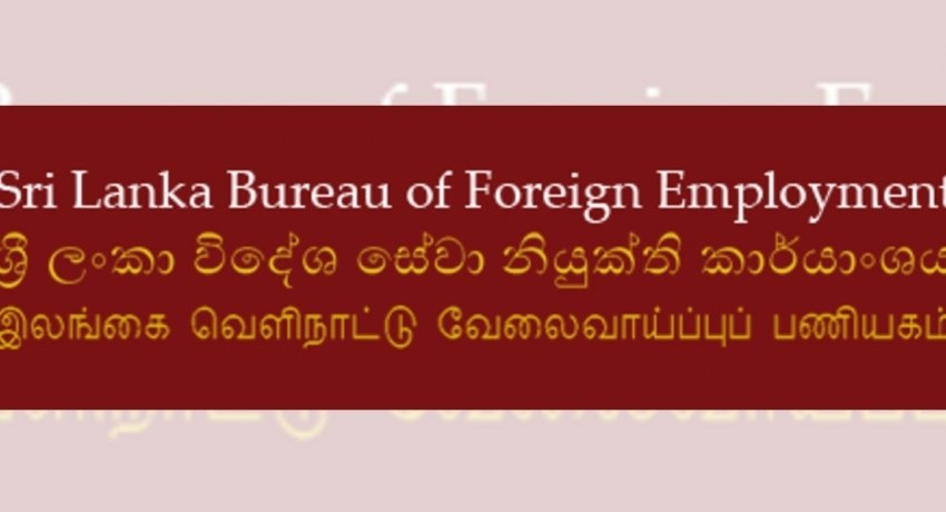 Process of sending Sri Lankans for employment overseas, resumes: SLBFE