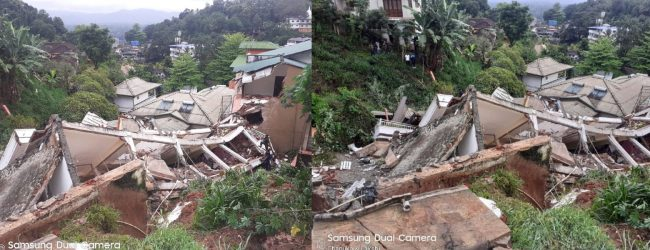Structural weaknesses & sub-standard material cause of Buwelikada collapse