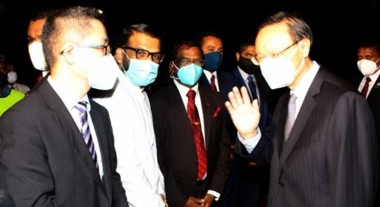 High-powered Chinese delegation in Sri Lanka; Led by former Chinese Foreign Minister