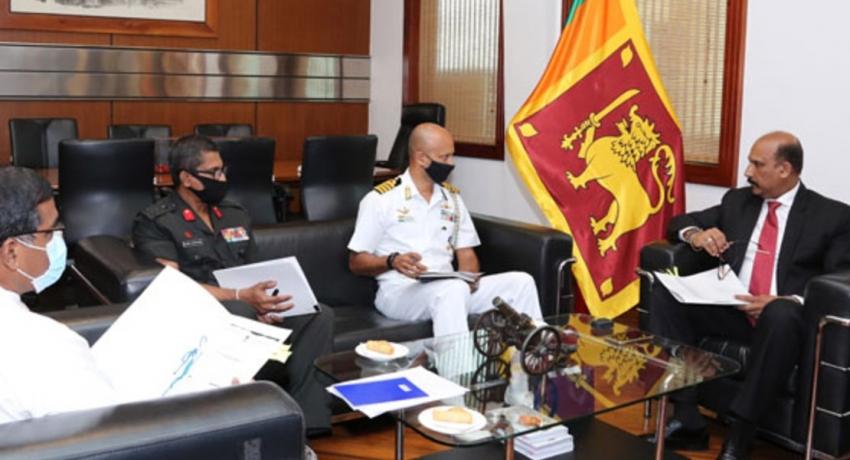 Indian Defence Advisor Meets Defence Secretary