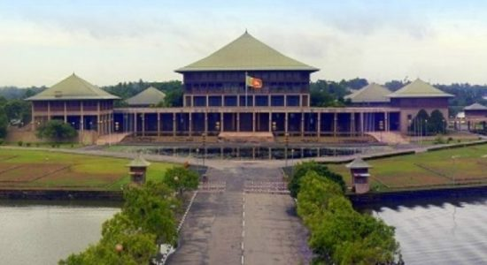 Parliament closed for two days to disinfect premises