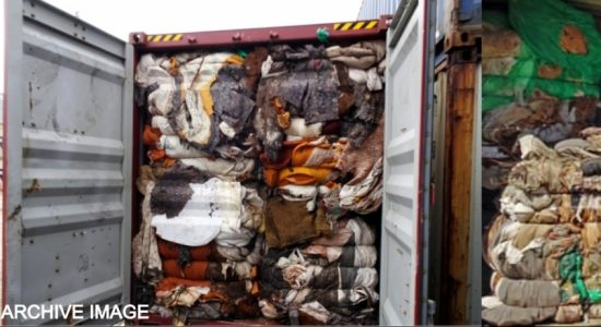 20 garbage filled containers to be repatriated to the UK on Friday