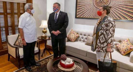 US Secretary of State meets President Rajapaksa