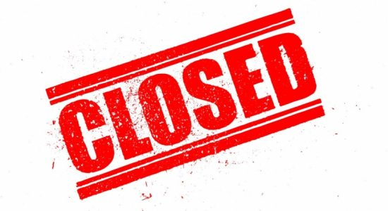Beruwala Fisheries Harbour Closed