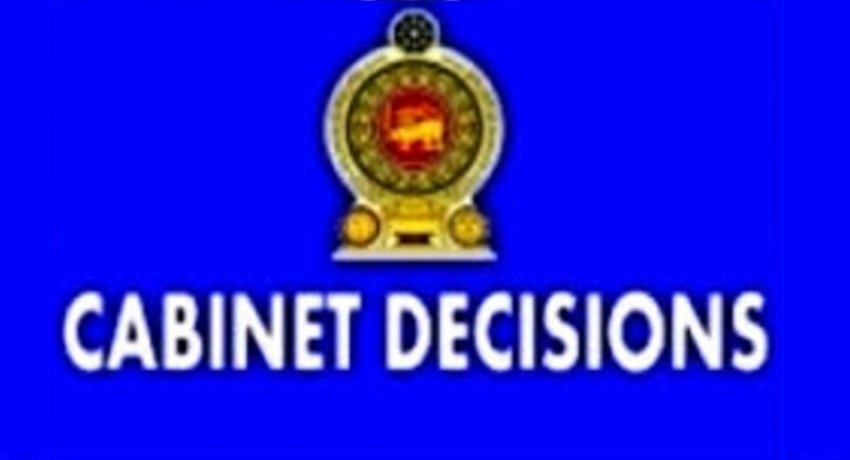 Cabinet nod to amend two laws
