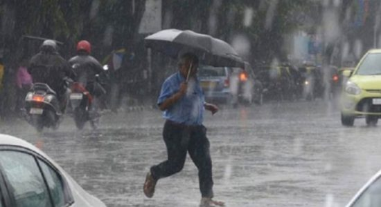 Fairly heavy falls exceeding 75mm likely today: Met. Dept.