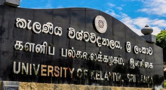 Student at Kelaniya University confirmed COVID-19 positive