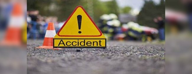 Three including police officer injured in accident