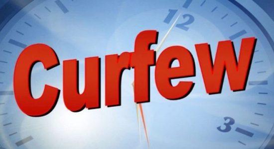 Quarantine Curfew extended for Buruwala, Payagala & Aluthgama