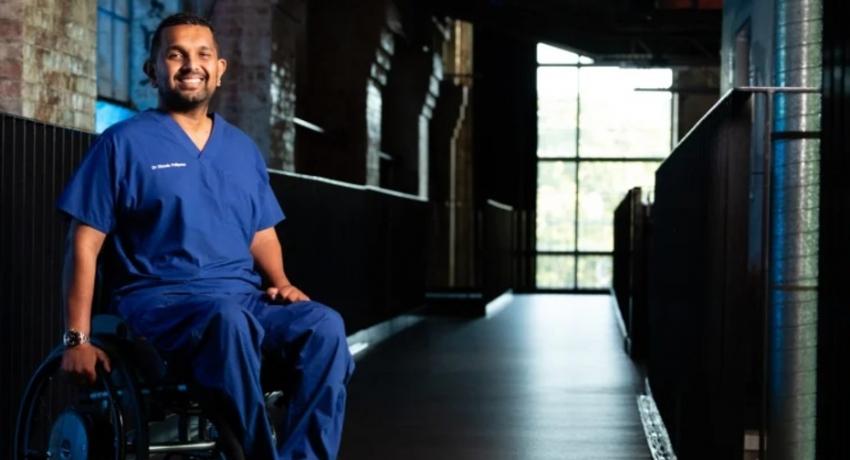 SL born Quadriplegic Doctor is Queensland's Australian of the Year