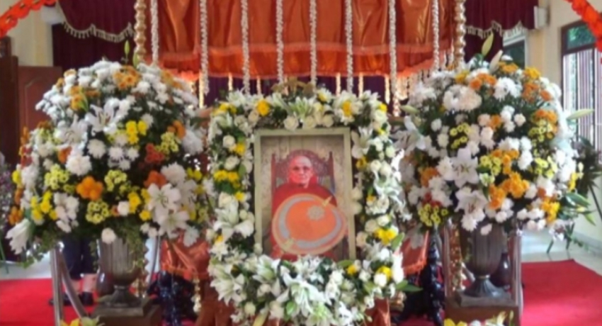 Final rites of Most Ven. Napane Pemasiri Thero today