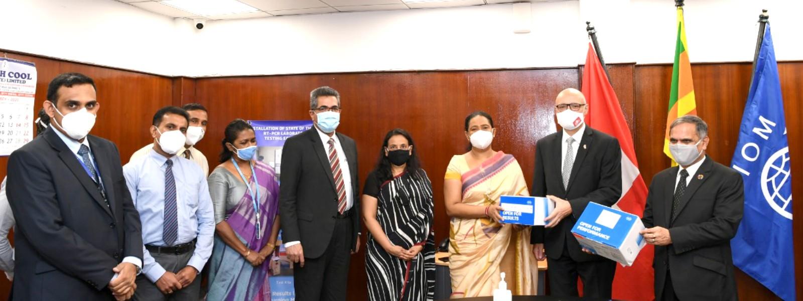 IOM Sri Lanka & Switzerland assist COVID-19 repatriation