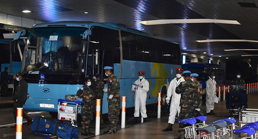 6th Contingent Serving at UN Peace-Keeping Mission in South Sudan, return