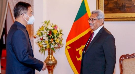 """We need investments: not loans"" President tells Chinese Ambassador"
