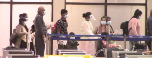 121 repatriated Sri Lankans return, another 296 scheduled to return today (21): NOCPCO