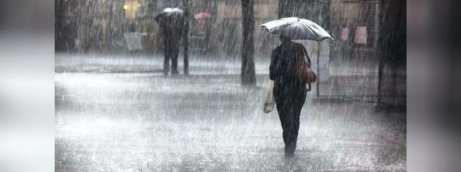 Heavy showers exceeding 100 mm likely today (21): Met. Department
